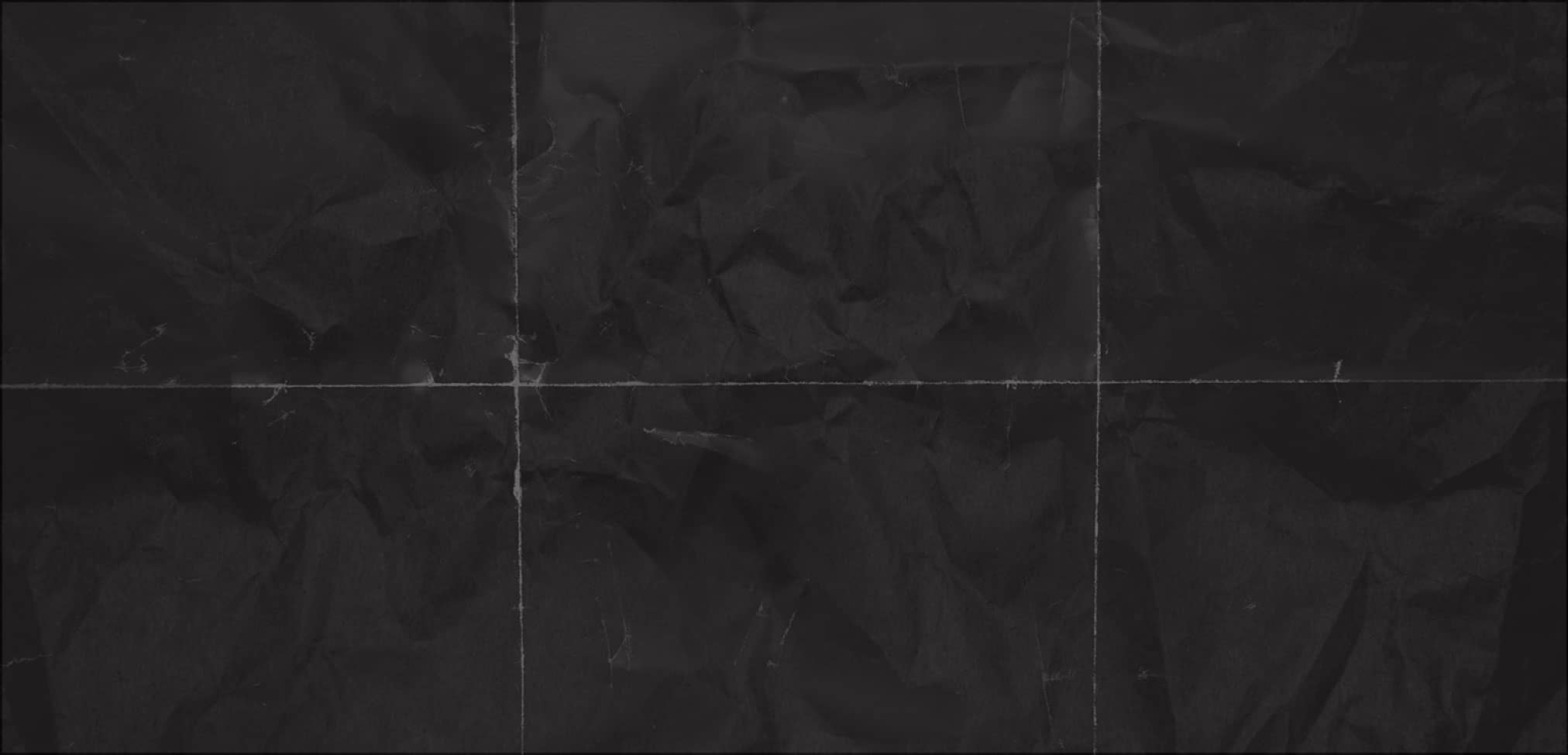 black folded paper