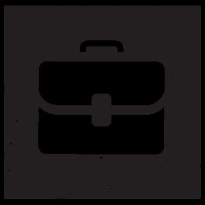 Square briefcase icon