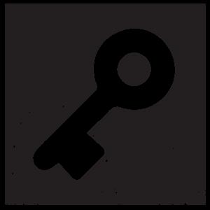 Square key icon